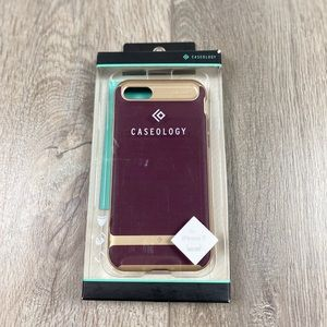 Caseology iPhone 7 Phone Case Purple Rose Gold